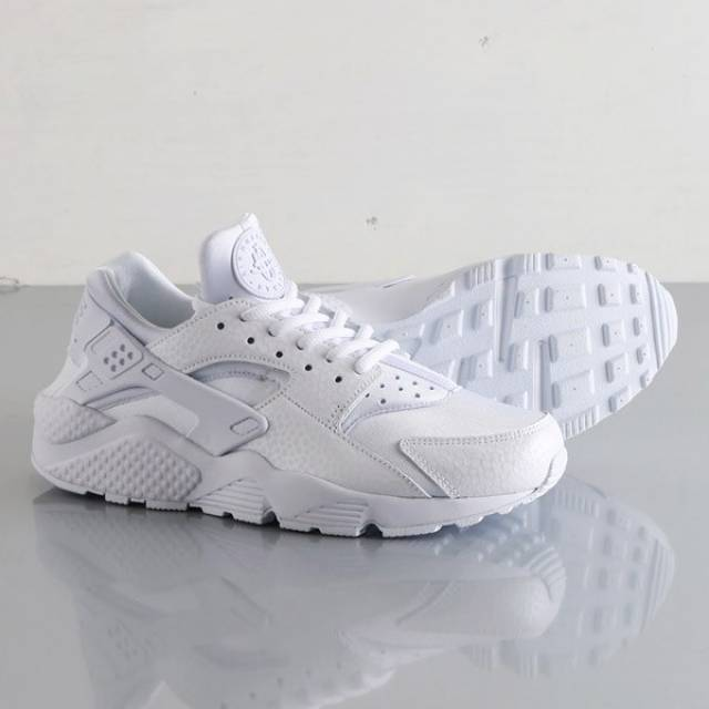 Product Womens Nike Air Huarache Premium All White Ultra Nike Air Huarache All White