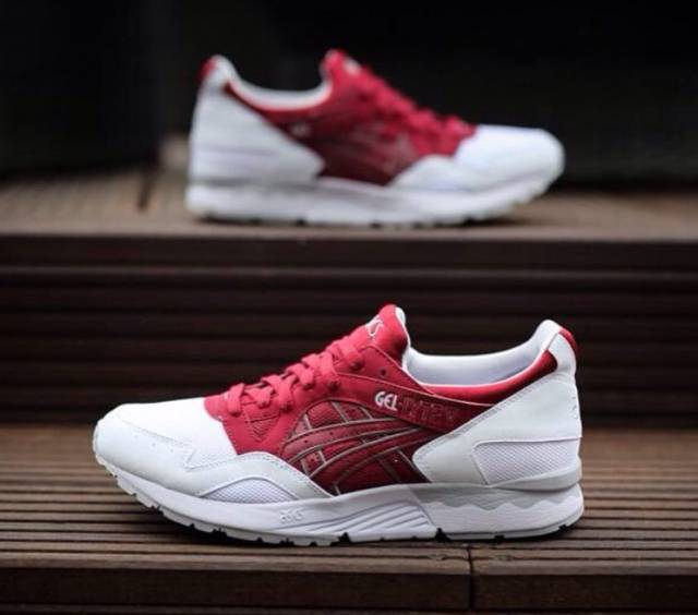 asics gel lyte v burgundy white