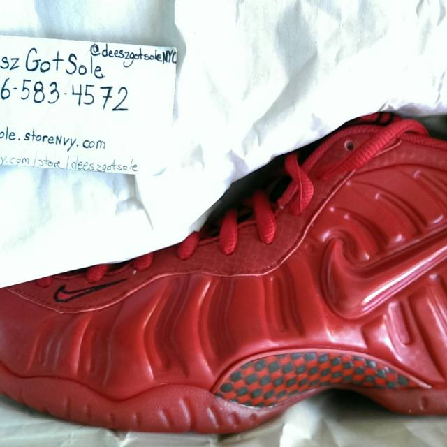 Nike Foamposite Gym Red Footlocker