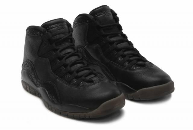 official photos c5c46 cf7c0 Air Jordan 10 Retro Ovo Black Mens Size 9.5 Us