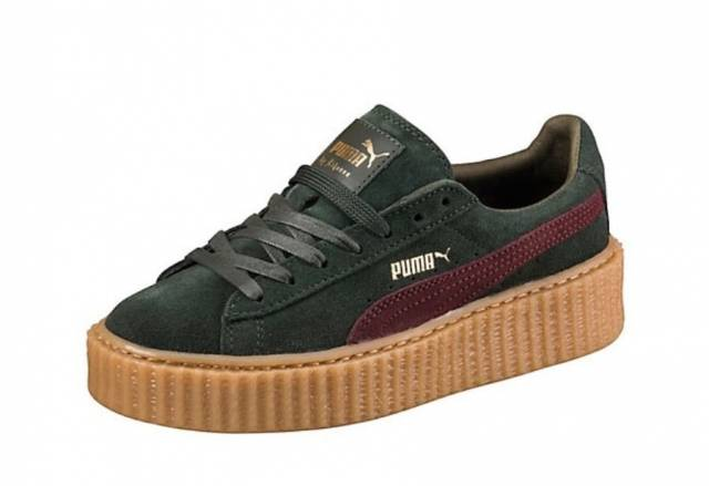 puma rihanna suede fenty creepers green bordeaux gum gucci kixify marketplace. Black Bedroom Furniture Sets. Home Design Ideas