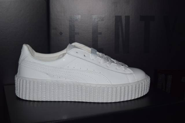 huge discount d97de 1016b Puma Fenty Rihanna White wearpointwindfarm.co.uk