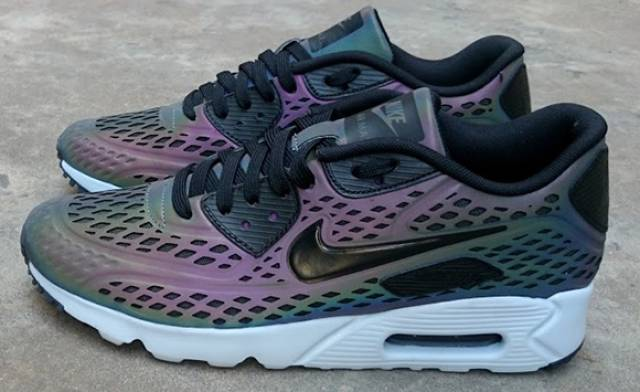the nike air max 90 ultra moire holographic will