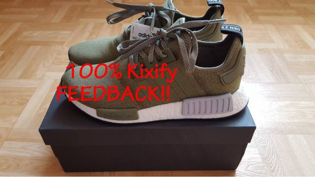 separation shoes 1cd17 63bae Adidas NMD R1 Olive Footlocker Europe Exclusive  Kixify Mark
