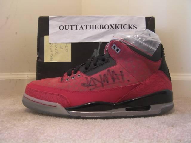4681a84aa58d0e Air Jordan 3 Doernbecher Autographed size 10