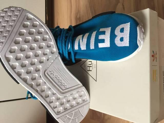 VNDS Adidas Pharrell Human Race NMD Size US 13 YELLOW PK
