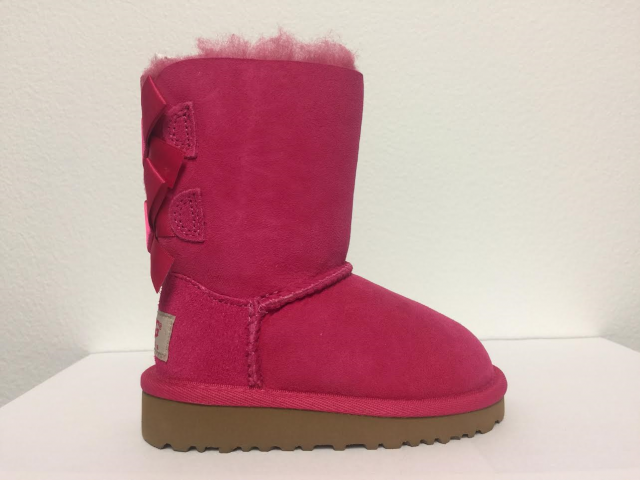 GIRLS UGG BOOTS T BAILEY BOW 3280T TODDLER SIZE 11
