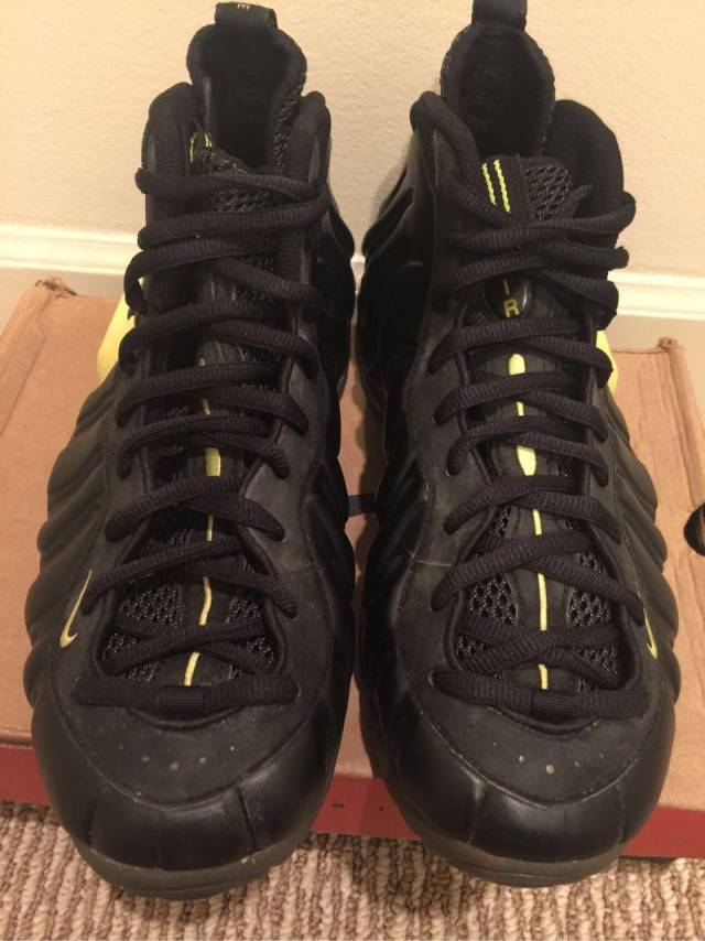 2f6c9d884dc EXTREMELY RARE 1997 Nike Air Foamposite Pro Volt Size 11
