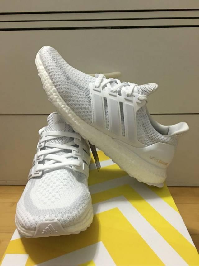 Adidas Ultra Boost White Silver Women