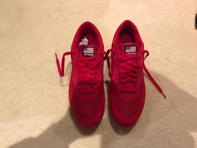 8e1d2d056a6a Nike Air Max Hyperfuse Independence Day RED