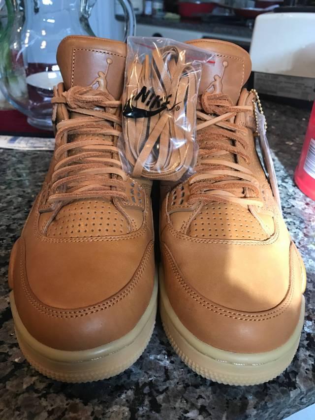 detailed look 8a4ed b424c Nike Mens Air Jordan 4 Retro Premium Pinnacle