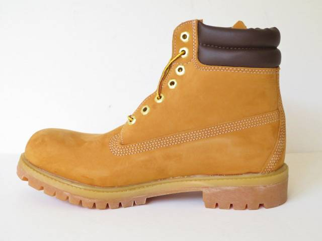Timberland Mens 6 Inch Double Sole Premium Leather Work