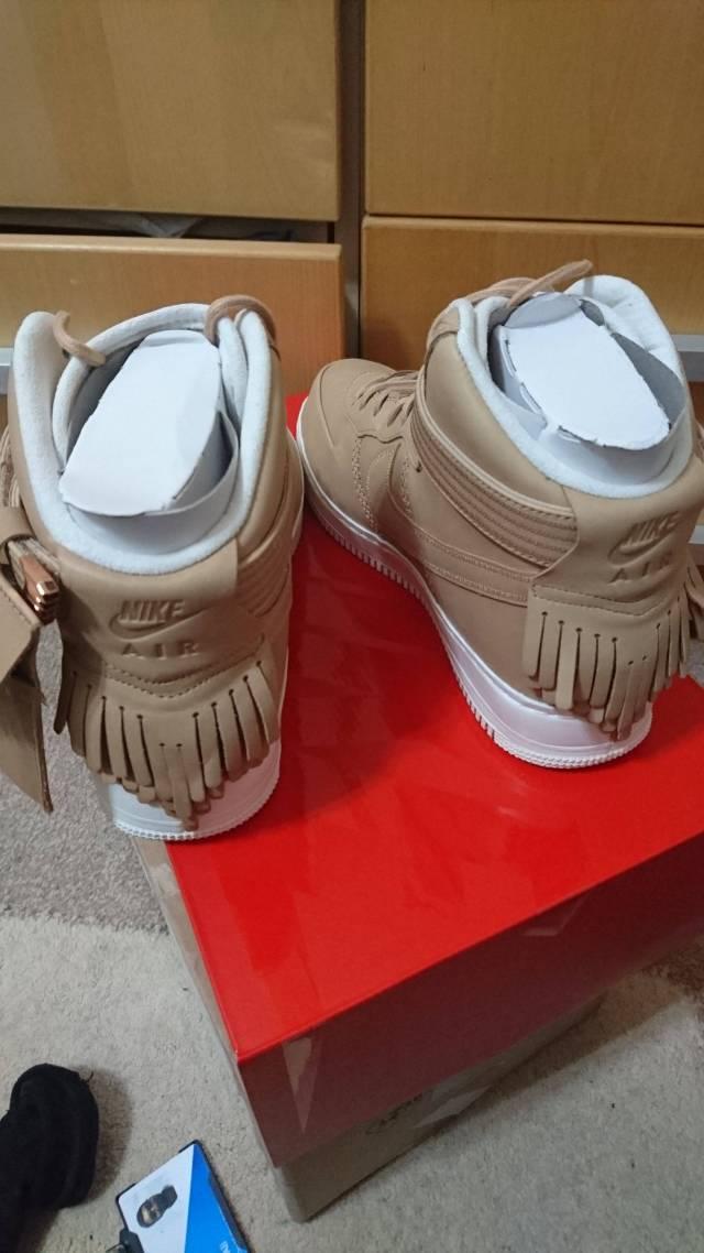 san francisco 0ecfc a589e Nike air force 1 high sport lux vachetta tan