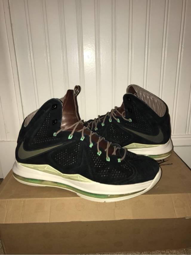 3322674d461a Nike LeBron 10 EXT QS - Black Suede