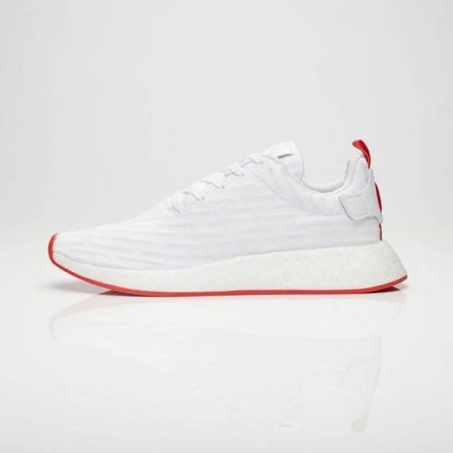 New Adidas NMD_R2 Primeknit Size 7.5