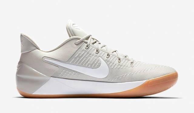 Nike Kobe AD Kids Shoes Light BonePale GreyVivid SkyWhite