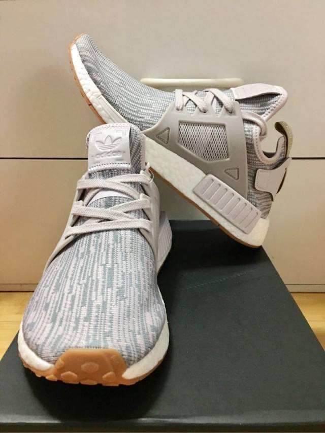 5ea3d3feb5b6c Adidas NMD XR 1 PK Gum Pack Ice Purple Grey Wm7.5us