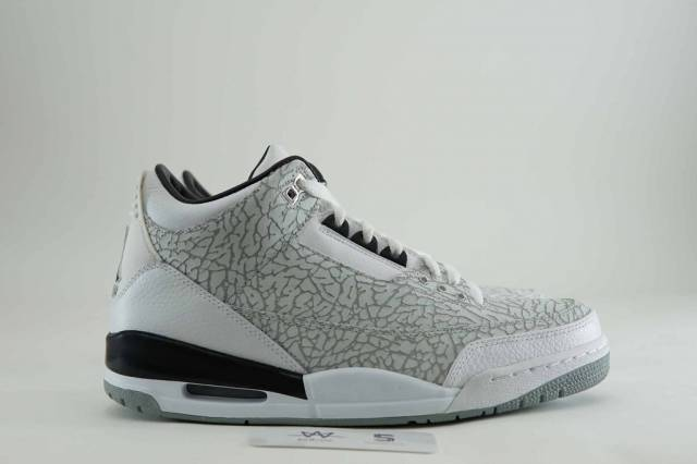 874617de626d AIR JORDAN 3 RETRO FLIP SZ 12 WHITE DS 315767-101