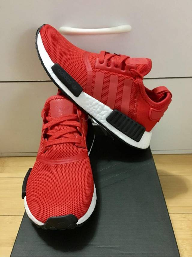 Adidas NMD R 1 Nomad Core Red Black Reflective Wm6.5US(M5.5US ... e63660803397