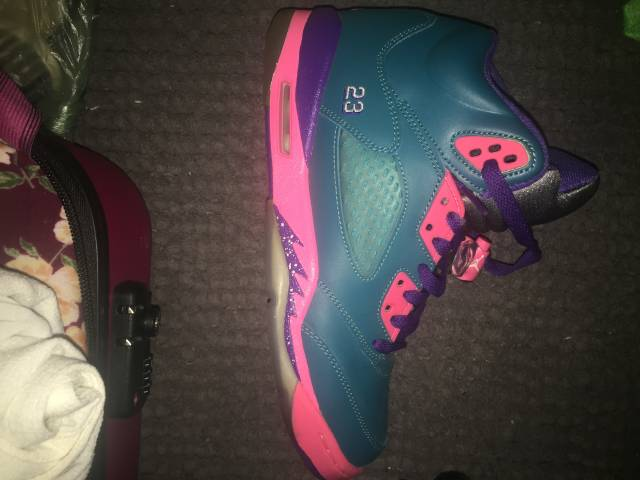 e0e844c8789066 Air Jordan 5 GS - Tropical Teal