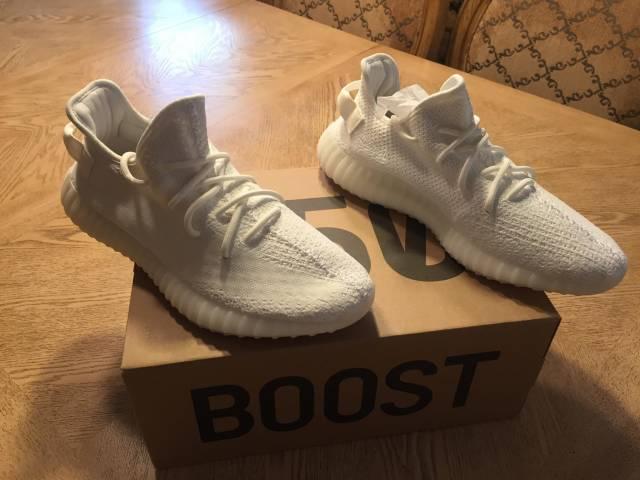 Adidas Yeezy Boost 350 V2 Cream White SZ 12 DMP Zebra Red OG