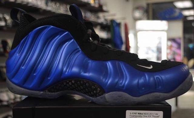 Nike foamPosite size 10 and 12 pre
