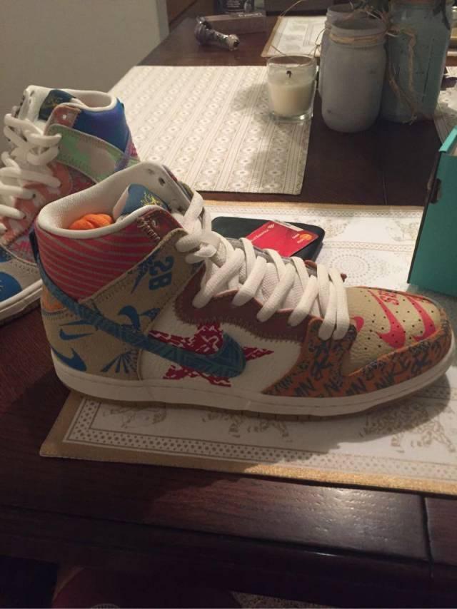 san francisco 28e0a 90444 Thomas Campbell x Nike SB Dunk High Premium