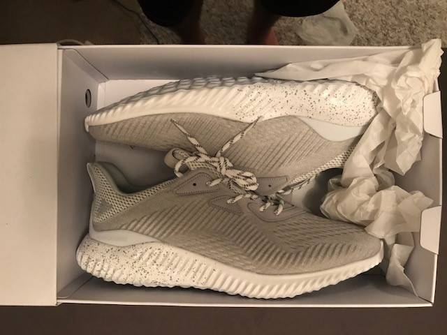 4a85b9a85 ADIDAS X REIGNING CHAMP ALPHABOUNCE GREY Size 13 - Brand New ...