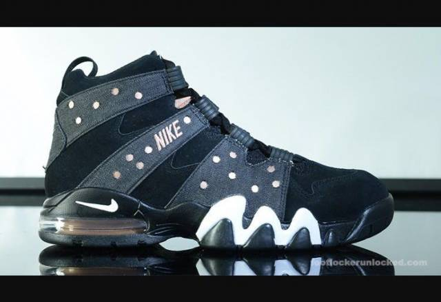 *LIMITED RELEASE* Nike Air Max 2 CB 94 Charles Barkley Black Bronze SIZE 10