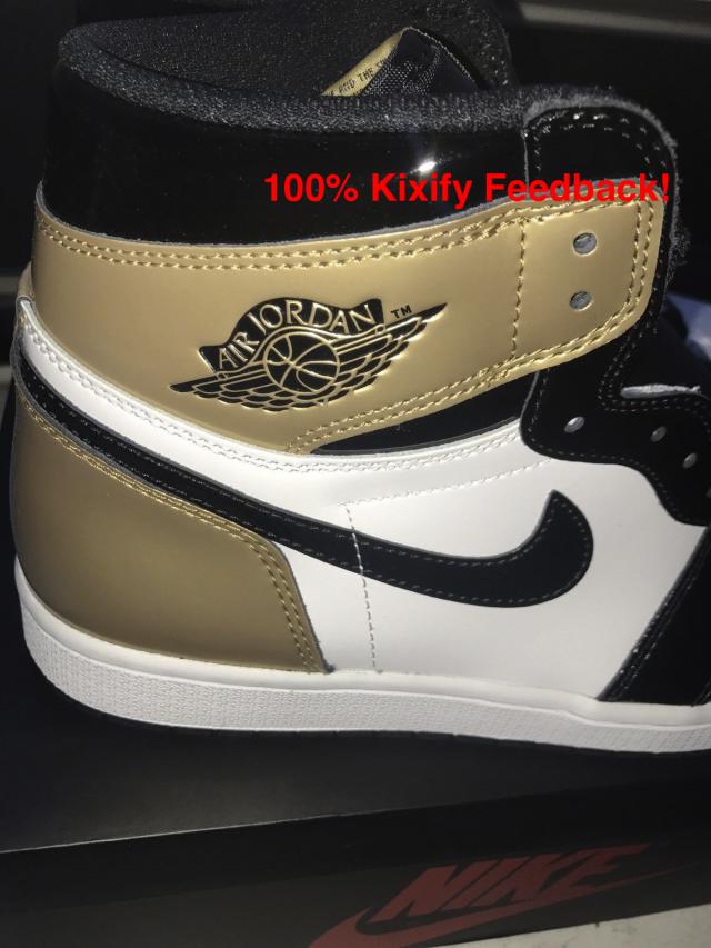 b4828f3a83f6 Air Jordan 1 Retro High OG Gold Top 3