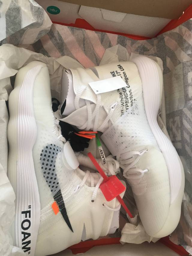 Nike HyperDunk 'Off White'