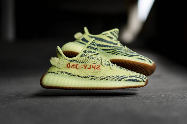 adidas yeezy semi frozen yellow adidas