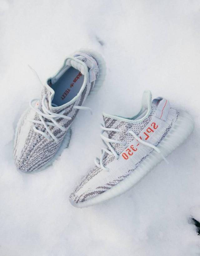 adidas Originals Yeezy Boost 350 V2 'Blue Tint' Kick Game