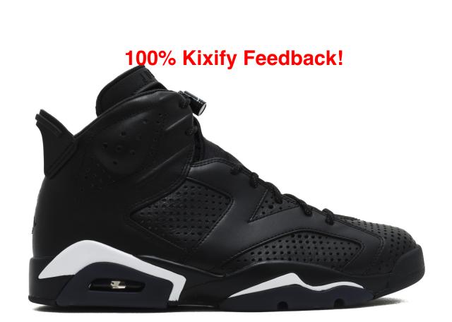 best service 66445 63ac2 Air Jordan 6 Black Cat   Kixify Marketplace