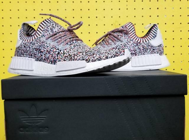 neue männer adidas nmd r1 primeknit farbe statische multi - kixify