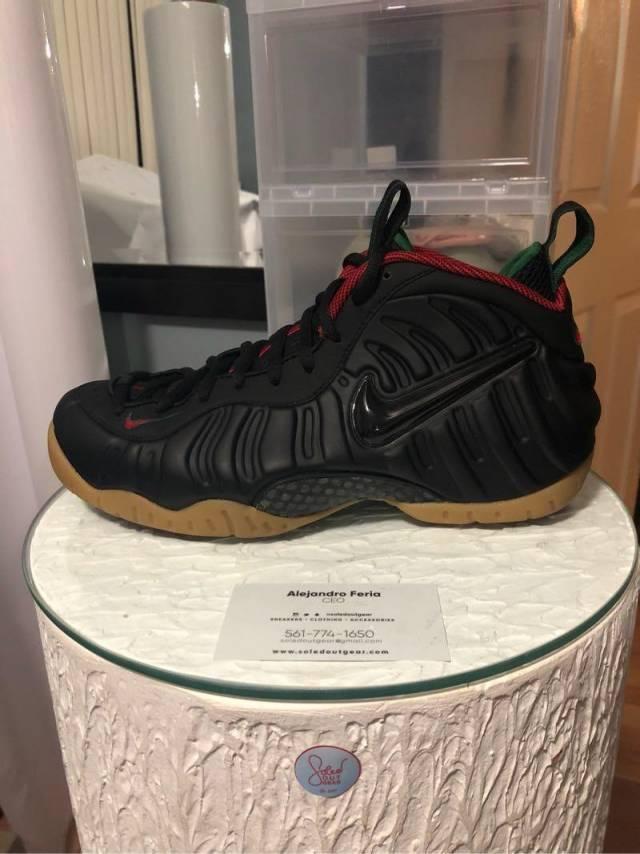 """size 40 ea228 05f7f Nike Air Foamposite Pro """"Gucci"""""""