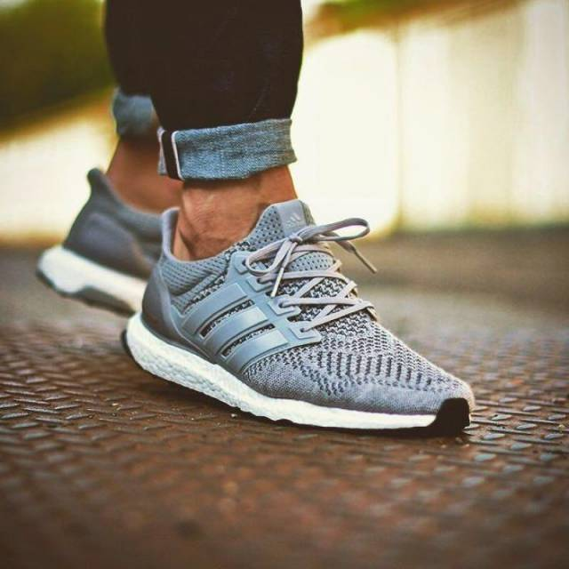 Adidas Ultra Boost 1.0 Gray Wool  72507e4cb