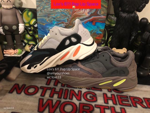 f4a80a3b8eb22 Adidas Yeezy Wave Runner 700 Solid Grey SZ 4-12 Kanye West