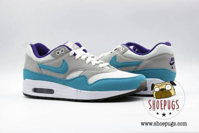 New Nike iD Air Max 1 Grape sz 9 white aqua
