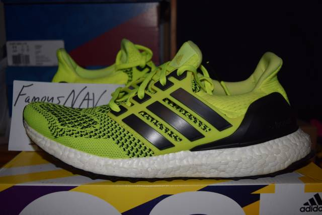 adidas ultra boost solar yellow