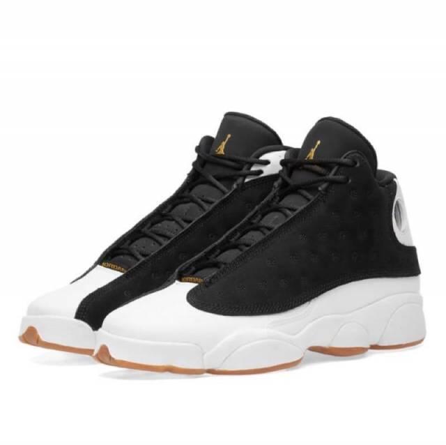 Air Jordan 13 Retro Black White Metallic Gold Gum City of Flight w Receipt  (Gs) 3.5-9.5 0c601393b