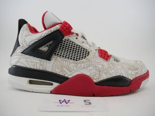 Air Jordan 4 Laser Jordan Kixify