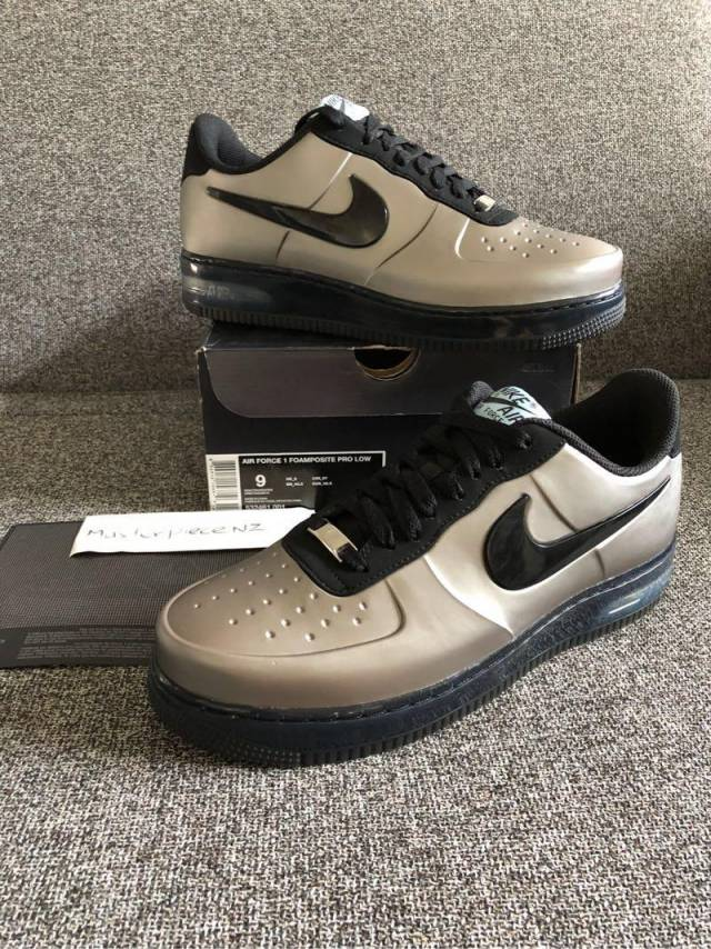 59f27d2871b61 New Nike Air Force One Foamposite Pewter US 11
