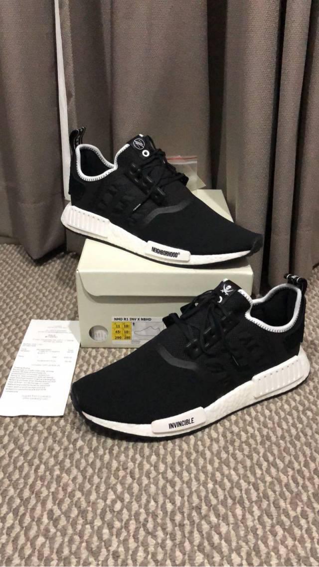 adidas nmd neighborhood invincible