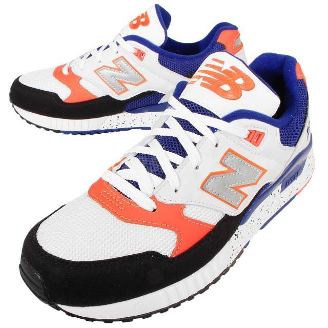 New Balance M530PSC D Knicks White Orange Blue Mens Running Sneakers M530PSCD