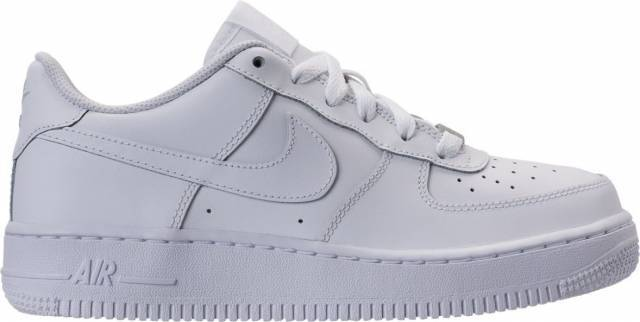 wholesale dealer 89a2c ec62f Boys  Grade School Nike Air Force 1 Low Casual Shoes White 314192 117