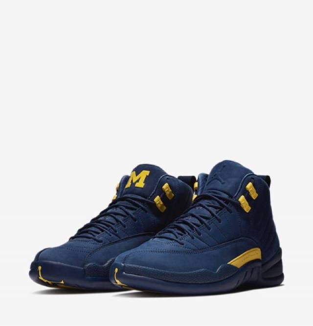 95911e612c0f19 Air Jordan 12 Retro Michigan w Receipt (men s) Size 7-15