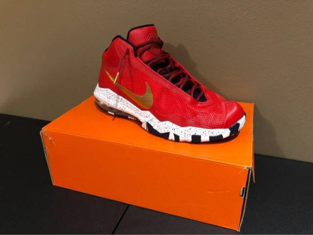 "cheap for discount 8c2a6 07f60 Nike Air Max Audacity ""Phatman"" PE Color University RedObsidianMetallic  Gold-White"