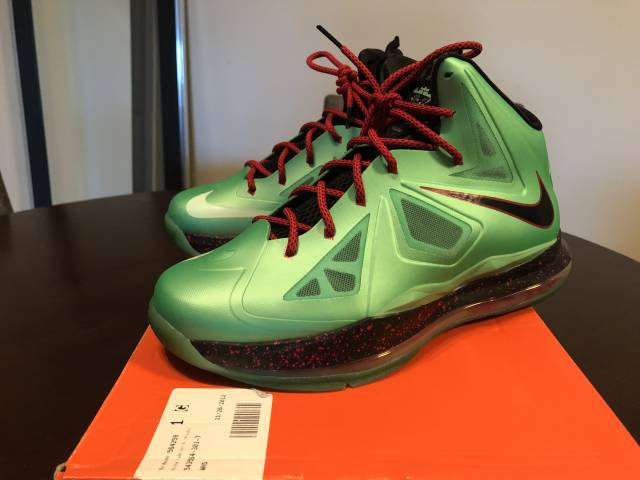 watch 73aeb 01d85 Nike LeBron X - Cutting Jade