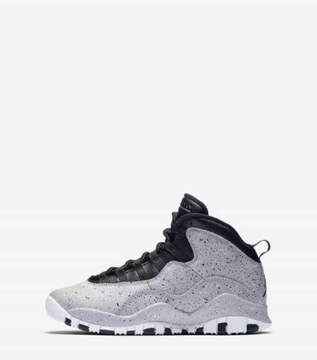 c7792b73558805 Air Jordan 10 Retro Cement Grey w Receipt (Gs) Size 3.5-7